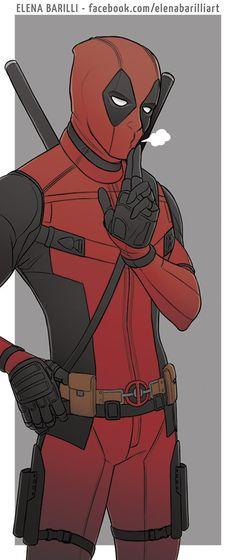 Deadpool by Marvel Comics (Elena Barilli 2016 art)