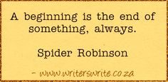 Quotable – Spider Robinson – Writers Write