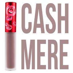 LimeCrime Cashmere VELVETINE.... Maybe I'll pick up during # IMATS