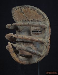 primative masks | Spider mask - Bété - Côte d'Ivoire - Art-africain.net - art from ...