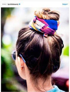 peinados fáciles con pañuelo verano