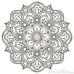 ❤~ Mandala para Colorear ~❤ Más