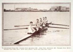 The Maryborough Rowing Club Champion Fours Qld 1934