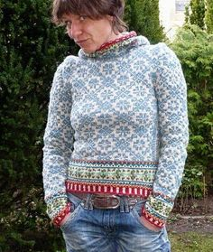 Knitting Patterns Sweter … the last post is actually almost 4 months ago …. Fair Isle Knitting Patterns, Fair Isle Pattern, Crochet Patterns, Crochet Pullover Pattern, Knit Crochet, Tejido Fair Isle, Fair Isle Pullover, Norwegian Knitting, Fair Isles
