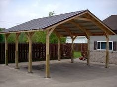 Image result for carport designs with access to backyard