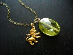 Peridots, Lion and Leadership on Pinterest