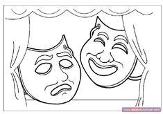 Tiyatro Haftası Boyama Sayfası - Önce Okul Öncesi Ekibi Forum Sitesi - Biz Bu İşi Biliyoruz