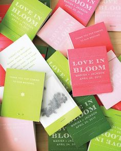 Sure, matchbooks have become a go-to wedding favor, but there's more to these clever versions than meets the eye. Give away a surprising something to remember in the form of a cheery, charming pack of forget-me-not seeds. The best part: Long after the big day, guests will watch the dainty blossoms—and the memories—spring to life.
