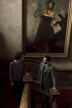 Michelle Dockery as Lady Mary and Tom Cullen as Lord Gillingham in 'Downton Abbey'