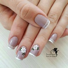 Learn something new and create unique spring nail designs in 2020 ❤ Find the great nail art ideas for spring ❤ See more at LadyLife Cute Spring Nails, Spring Nail Art, Nail Designs Spring, Cool Nail Designs, Summer Nails, Cute Nails, Pretty Nails, Flower Nails, Nails Inspiration