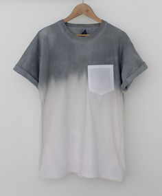 Quite Continental dip dyed t shirt