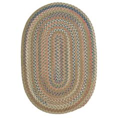Charlton Home Gaylord Olive Area Rug Rug Size: Oval 4' x 6'