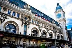 Gare de Lyon train station Paris France