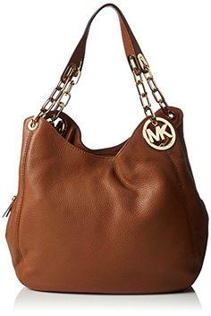 #Michael #Kors #Fulton #Large #Leather #Shoulder #Tote #30H3GFTE3L #Damen…