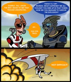 Guess being in STG helped, huh Mordin?