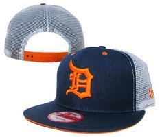 5269537ab92 MLB Detroit Tigers New Era 9Fifty Snapback Mesh Hats Navy! Only  8.90USD