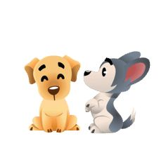 Discover & share this Chummy Chum Chums Sticker for iOS and Android. Bring your texts and messages to life with our collection of GIPHY Stickers. Love Heart Gif, Cute Love Gif, Hug Gif, Emoji Love, Love Stickers, Cute Little Animals, Dog Love, Cute Dogs, Cute Pictures
