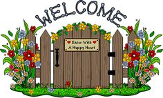 Flowers and Garden Graphics and Clip Art Free clip art Welcome images Garden clipart