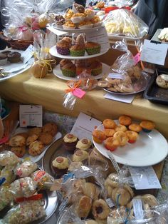 Love a good cake stall!