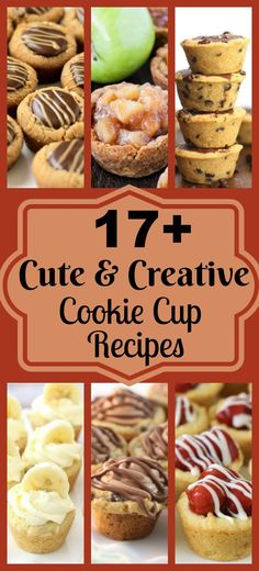 Cookie Cup Recipes are some of my very favorite desserts to make for any gathering! These bite-sized treats are filled with a variety of flavors and are easy to make. They make a good amount, are the perfect bite size treat and are so delicious. via @ButterGirls