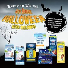 Mixed Bag Mama: 4th Annual Halloween with Hyland's Costume Contest...