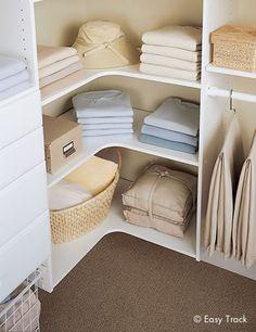 Closet Organizers | Custom Closet Systems by Easy Track