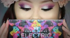 Urban Decay Electric Palette Look                              …                                                                                                                                                                                 More