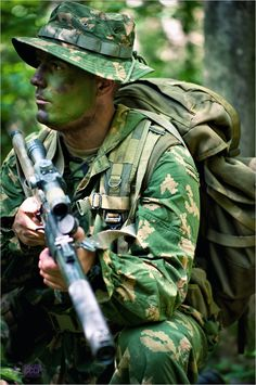 Spetsnaz. The spetsnaz has one of themost excellent training exercises and some of the best weapons