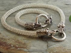 Dragon Head Viking knit chains   Craftsy