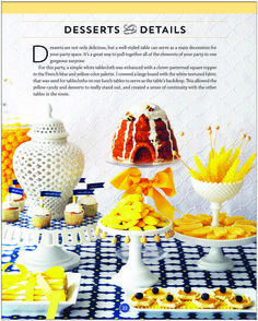 SNEAK PEEK into Stylish Kids' Parties book by Kelly Lyden: What Will it Bee? #babyshower #bumblebee #desserttable #stylishkidsparties #whhostess