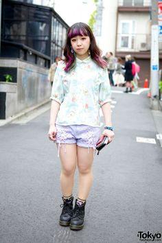 Tokyo Fashion Candy Stripper Shorts Tokyo Japan Fashion 35963748df5f