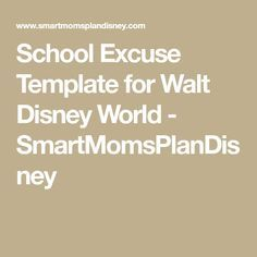 This is a school excuse template that you may use to turn in to your child's school to request that their absences be excused. Disney World Trip, Disney Vacations, Disney Trips, Disney Travel, Disney Planning, Trip Planning, Disney World Tips And Tricks, Disney Magic, Disneyland