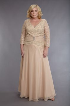 Mother of The Bride Plus Size Dress.