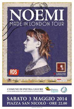 #concerto #nottebianca #pietraligure #noemi #liguria #visitriviera #maggio #2014 #visitpietraligure