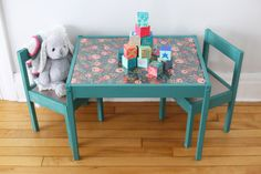 30 Creative Image of Kids Furniture Makeover . Kids Furniture Makeover Diy Kids Table Makeover The Sweetest Occasion
