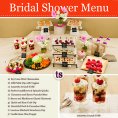 French Garden Bridal Shower Inspiration