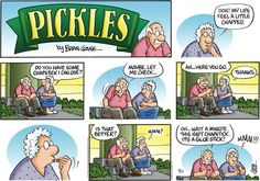 Pickles found on gocomics.com on Sunday, April 19, 2015. Silence truly is golden. I need to follow The Golden Rule.