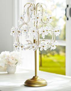 Emily and Merritt Table Lamp Chandelier