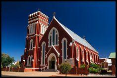 St Lawrence O'Toole Catholic Church, Cobar, NSW, Australia