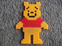 Perler beads Winnie the Pooh