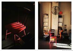 The Monkeys - www.wheretheycreate.com  #themonkeys #sydney #studiospace #chair