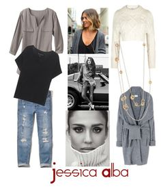 """""""Get the look #Jessicaalba"""" by hayelerbil on Polyvore featuring DL1961 Premium Denim, Hollister Co., TravelSmith, DKNY, True Religion, Acne Studios and Nouvel Heritage"""