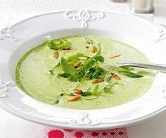 Das Rezept für Feine Rucola-Cremesuppe und weitere kostenlose Rezepte auf LECKER.de