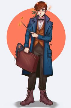 Fantastic beasts and dis boii by Divalina on DeviantArt