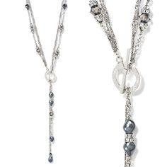 La Courtisanne Necklace by Caroline Neron Ayurveda, Jewelery, Bling, Chain, Beads, Bracelets, Silver, Fashion, Fantasy