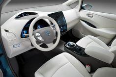 Nissan Leaf: my next eco-friendly car. The inside.