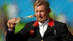 British show jumper Nick Skelton has become Britain's second-oldest Olympic gold medallist in his seventh Games.  The 58-year-old, who initially retired 16 years ago after breaking his neck in two places, claimed individual gold after a six-way jump-off.  It is Britain's first individual show jumping medal since Anne Moore's silver in 1972, and adds to Skelton's gold in the team event at London 2012.
