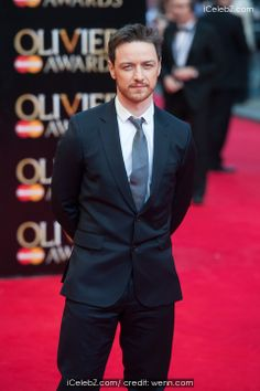 James Mcavoy Olivier Awards 2014 held at the Royal Opera House http://www.icelebz.com/events/olivier_awards_2014_held_at_the_royal_opera_house/photo44.html