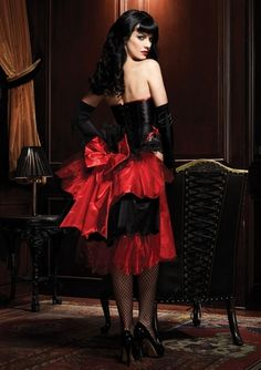 great tango outfit!! Or Halloween, or just bedroom fantasy!