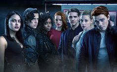Download wallpapers Riverdale, 2017, Casey Cott, Ashleigh Murray, Camila Mendes, Madelaine Petsch, Lili Reinhart, Cole Sprouse